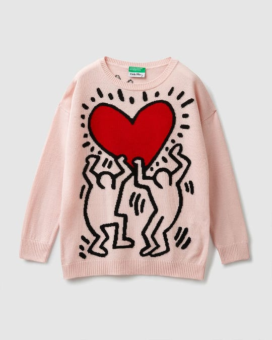 """Suéter """"Keith Haring"""""""