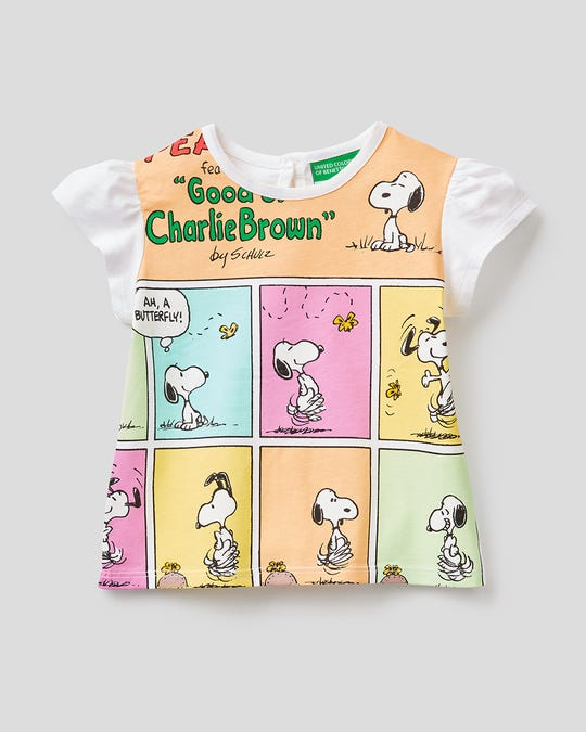 Playera estampada de Snoopy
