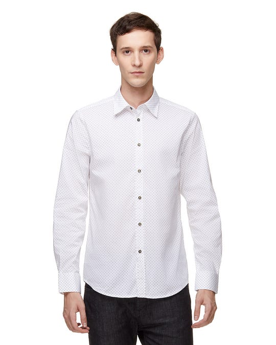 Camisa Slim Fit de Cambray